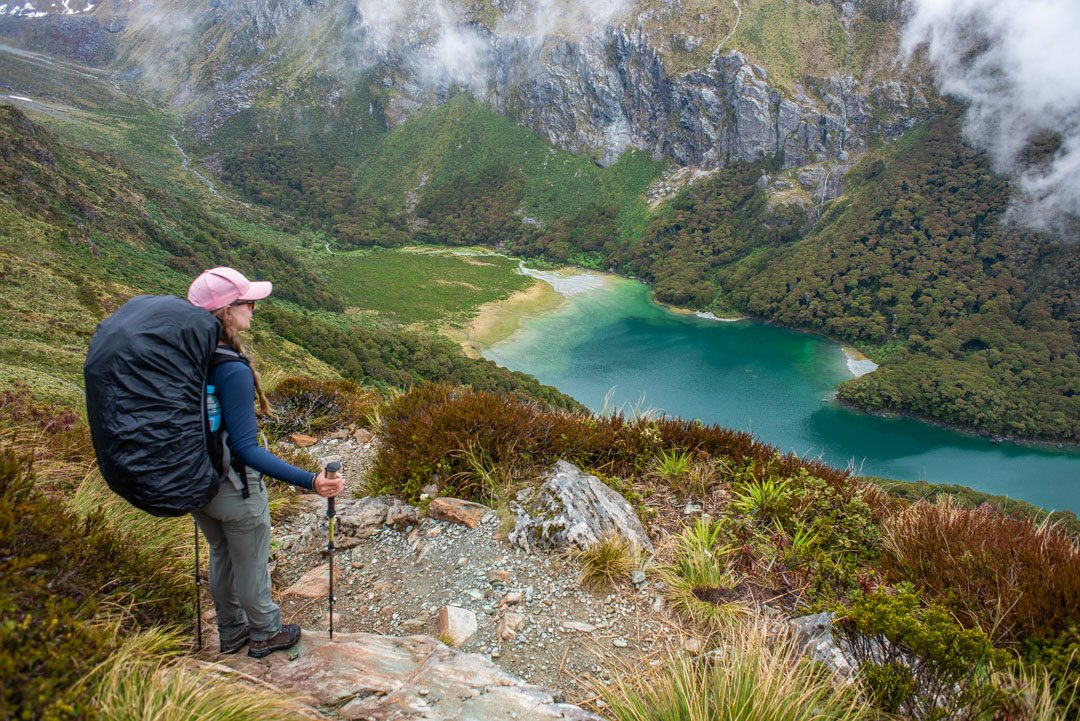 Lake Mackenzie on the Routeburn Track