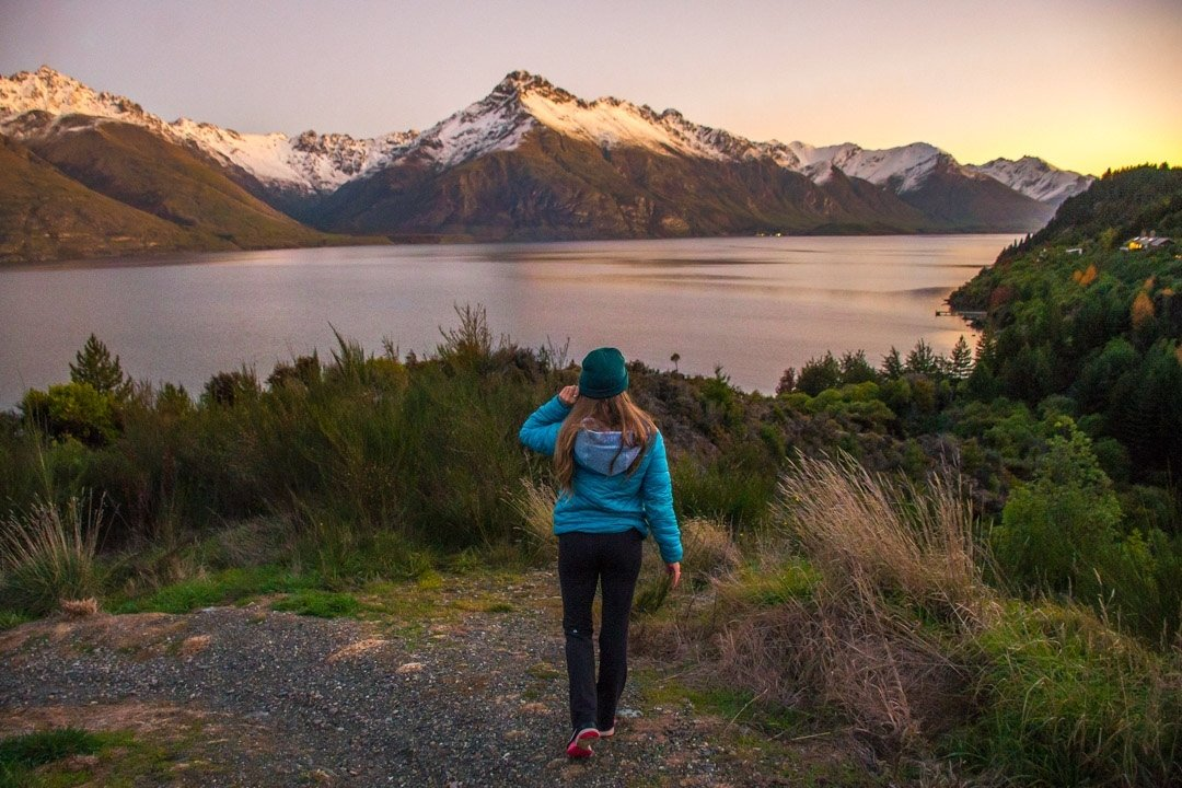 Lake Wakatipu is one of the most beautiful spots in Queenstown to take photos