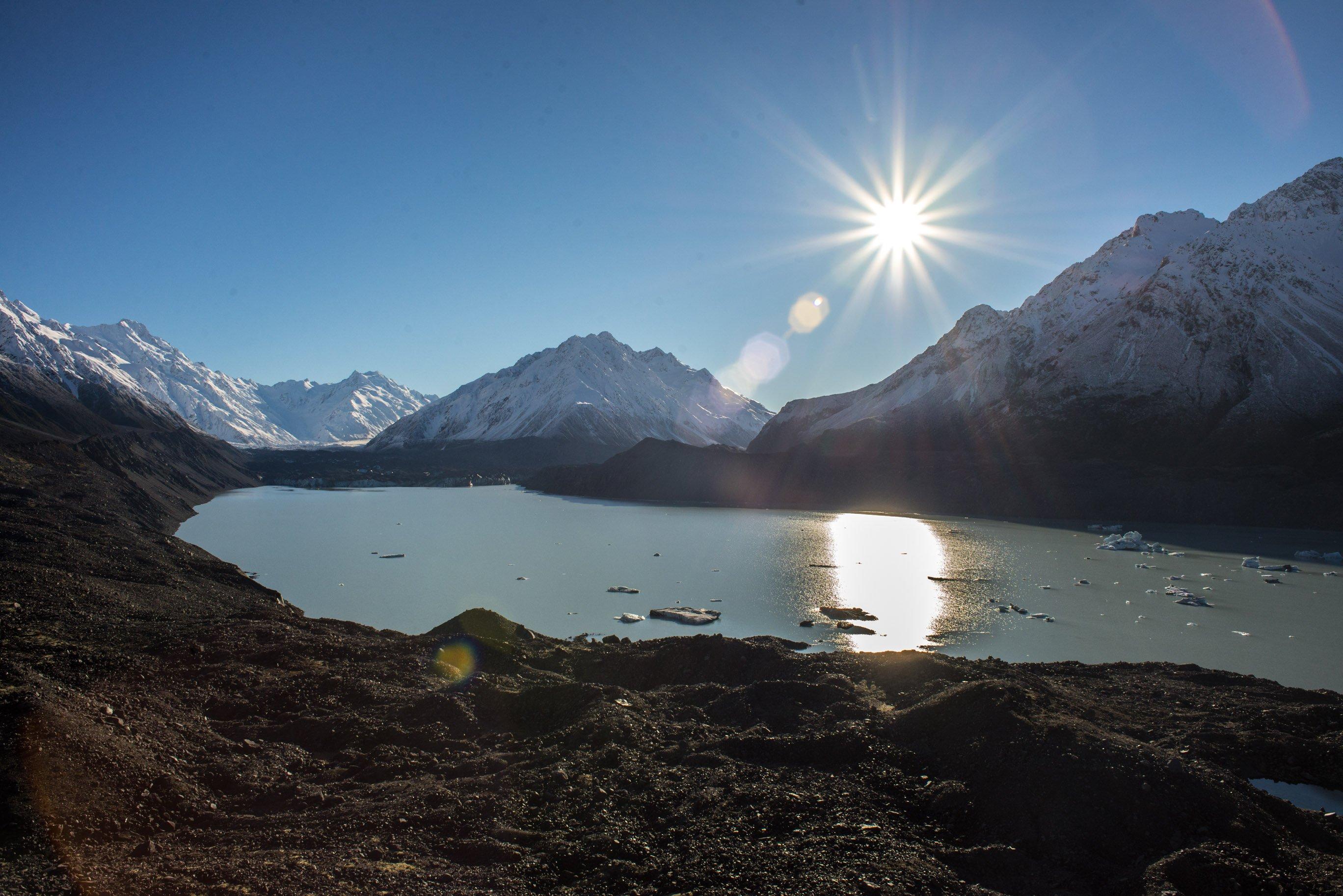 tasman lake viewpoint