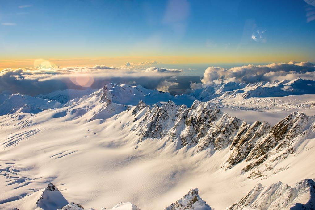 Mount cook Helicopter flight