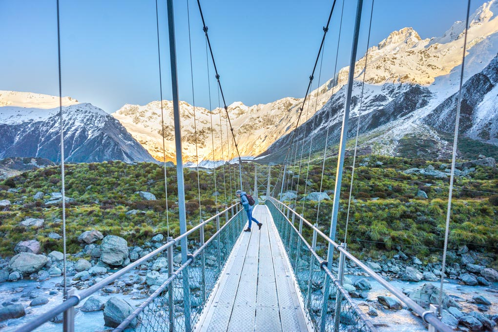 The hooker Valley Track, Mt Cook