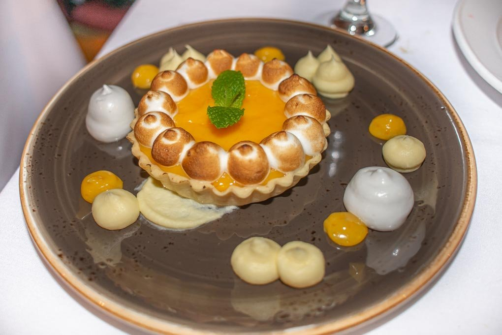 The Lemon Tart at Heidi's Hut
