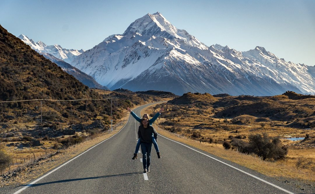 new zealand road offer some of the best views!