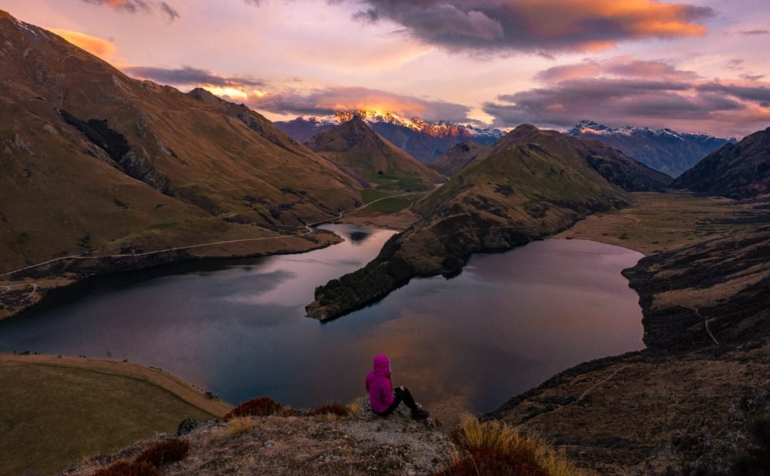 moke lake in Queenstown New Zealand