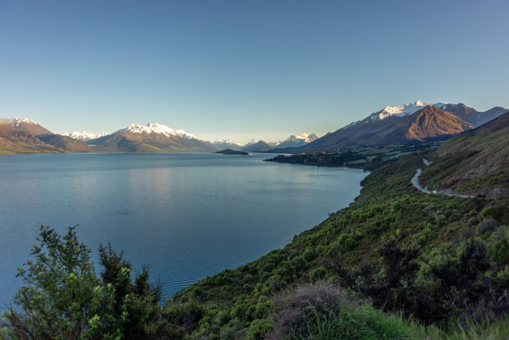 the windy road to glenorchy is one of the best things to do on the south island of New Zealand