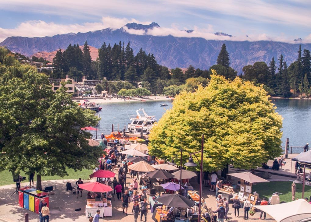 the Queenstown Saturday Markets