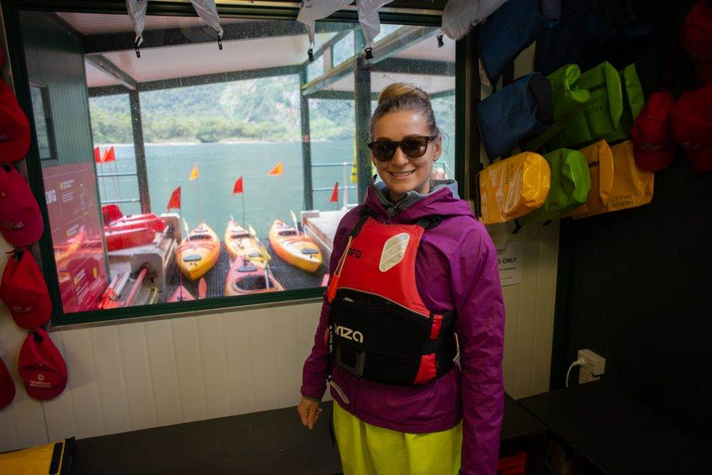 kayaking in Milford Sound tours