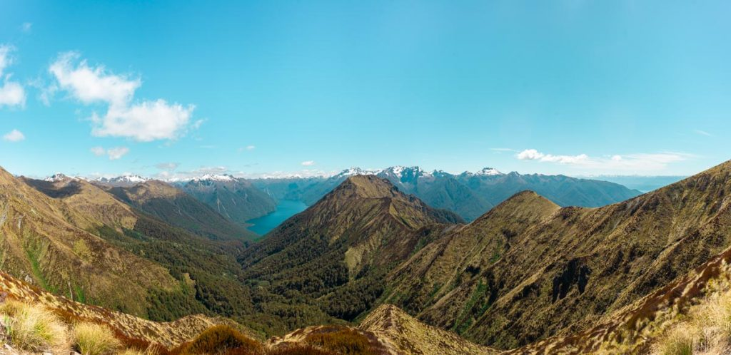 Panorama from the Kepler Track looking over the mountains