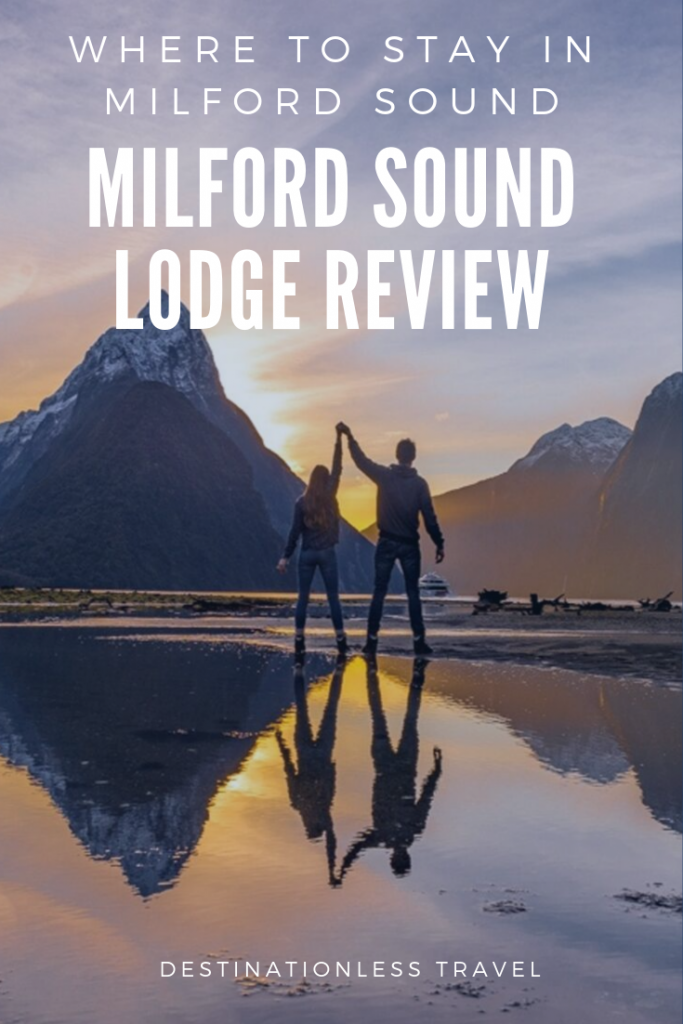 milford sound lodge pin
