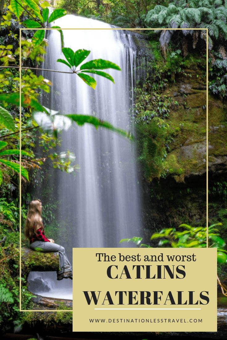 the best and worst catlins waterfalls