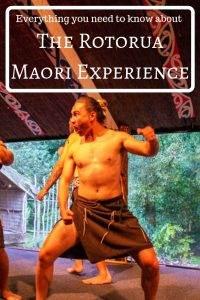 Rotorua Maori experience pin