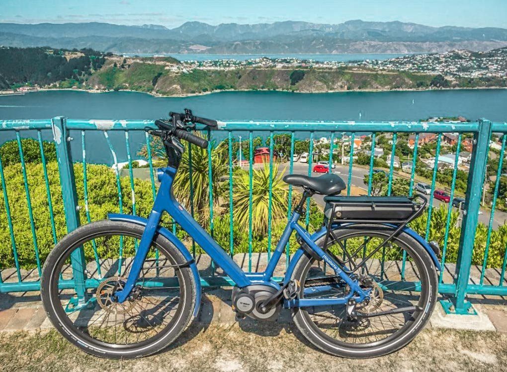 Electric bike in Wellington