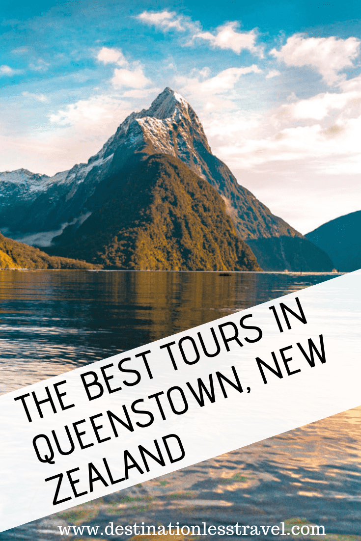 Best tours in Queenstown Pin