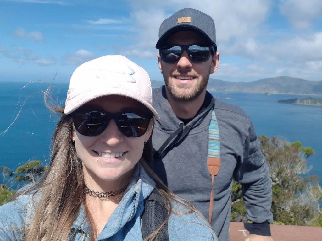 selfie on motuara island, Marlborough Sounds, New Zealand