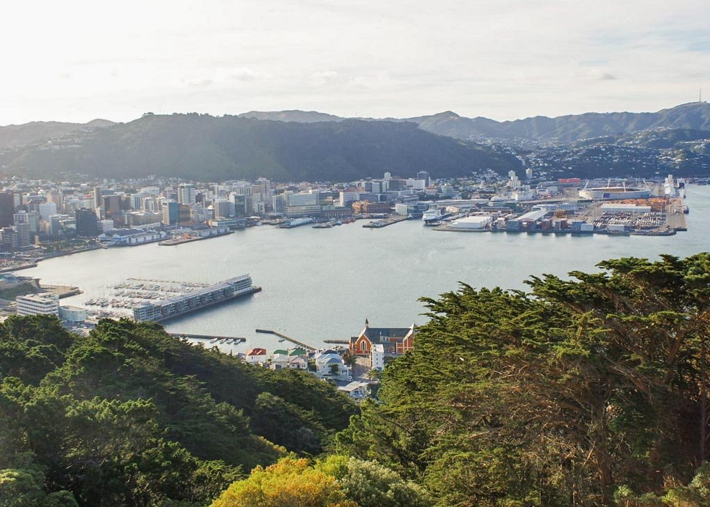 Mount Victoria Lookout, Wellington, New Zealand