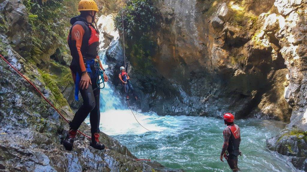 Canyoning is actually the best thing to do in Queenstown