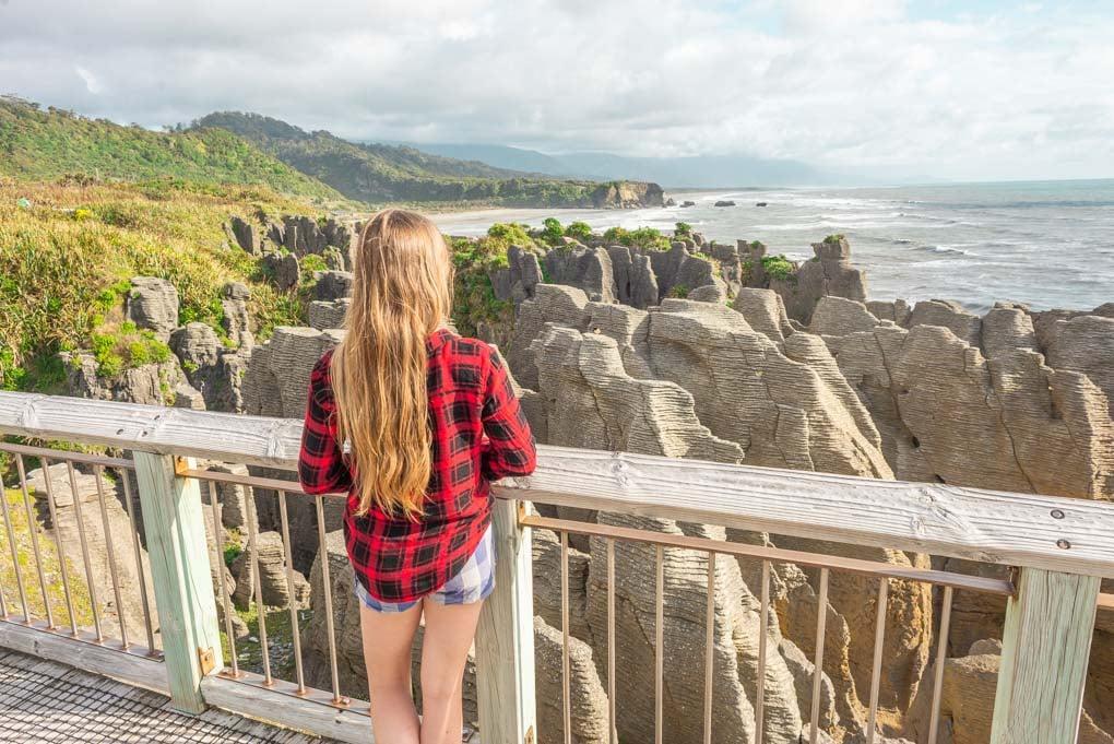 The Pancake Rocks, Punakaiki New Zealand