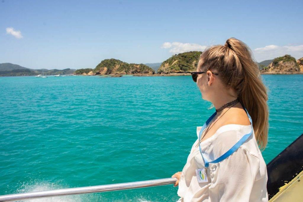cruising around the bay of islands