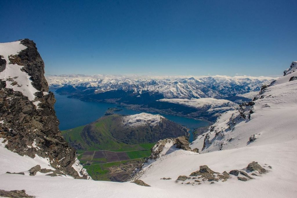 One of the best queenstown photography spots is at the remarkables ski field