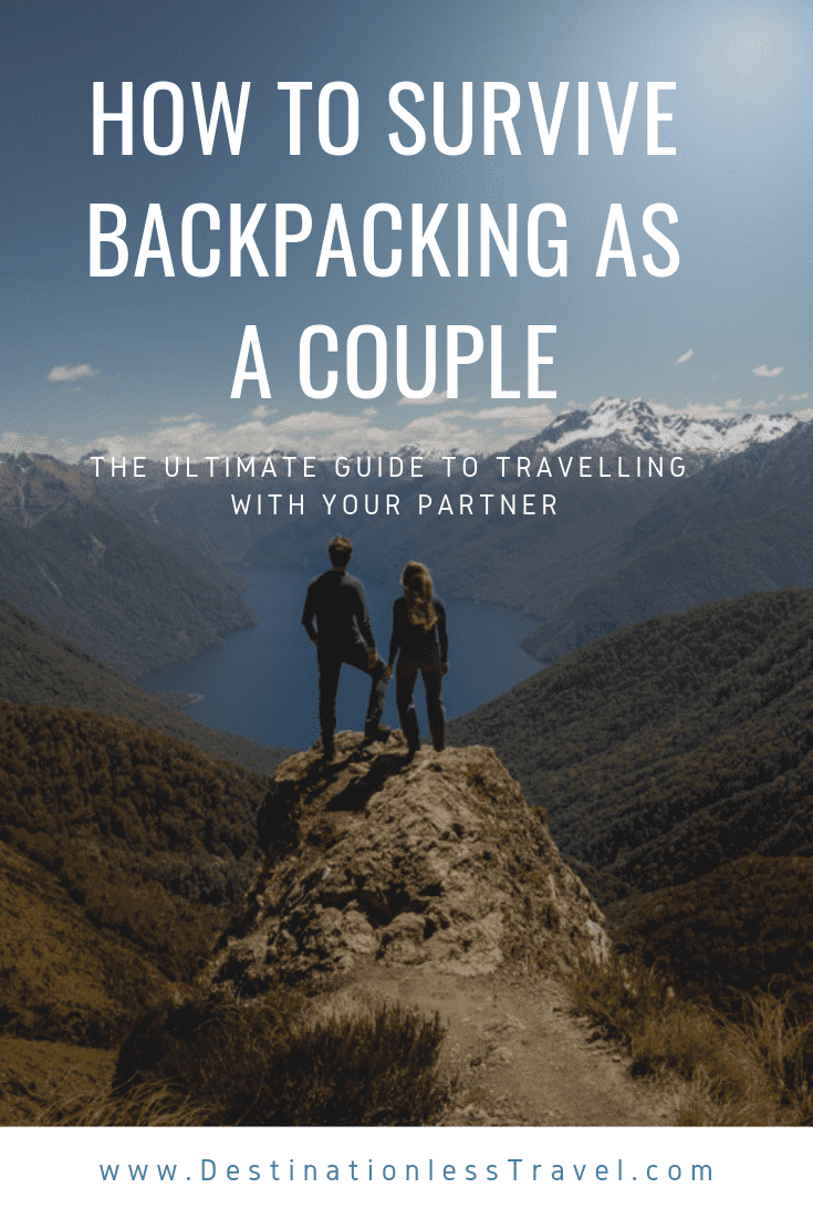 how to survivie backpacking as a couple pin