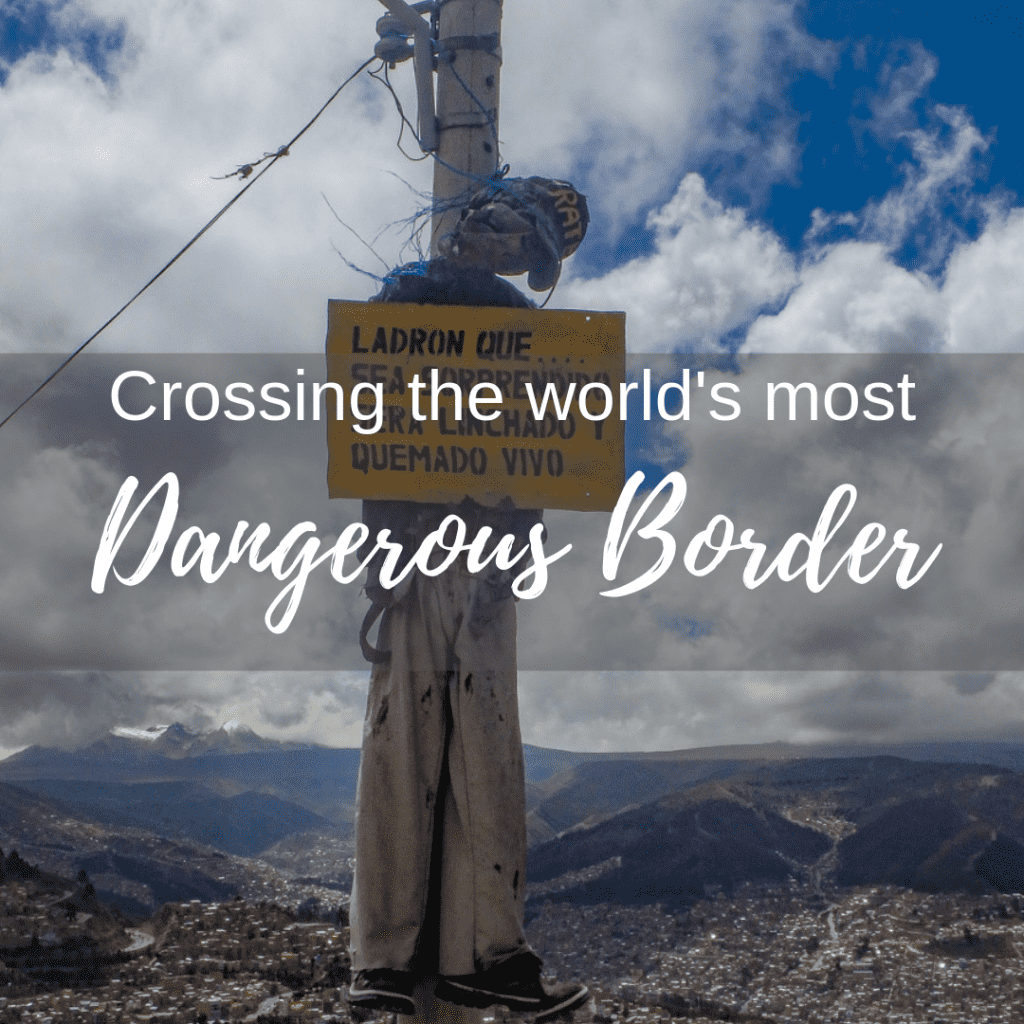 crossing the worlds most dangerous boarder