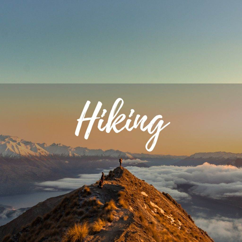 Hiking is a part of being atravel blogger see our tips here!