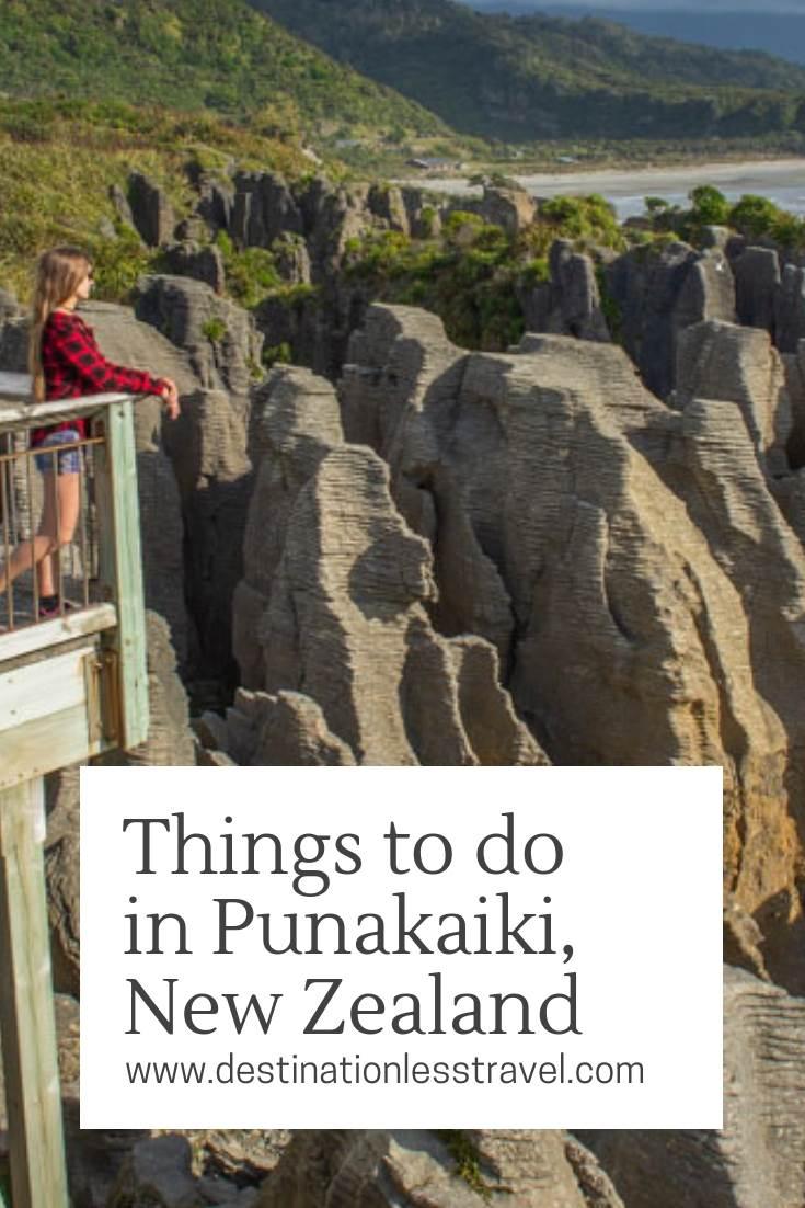 Things to do in Punakaiki, New Zealand pin