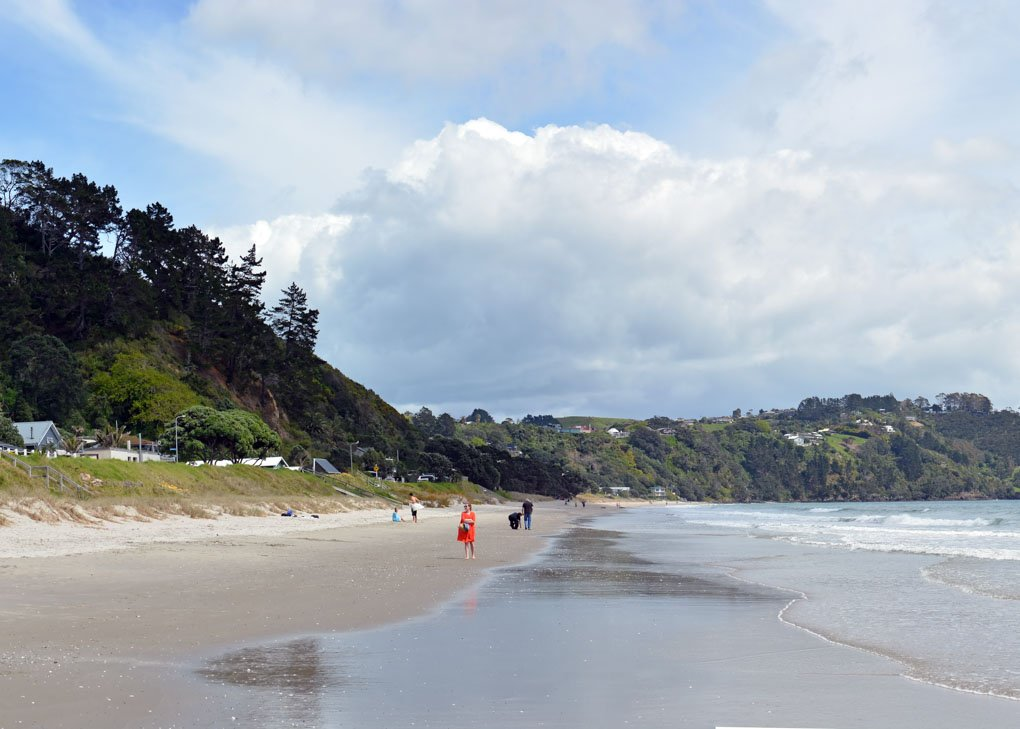Onetangi Beach, New Zealand