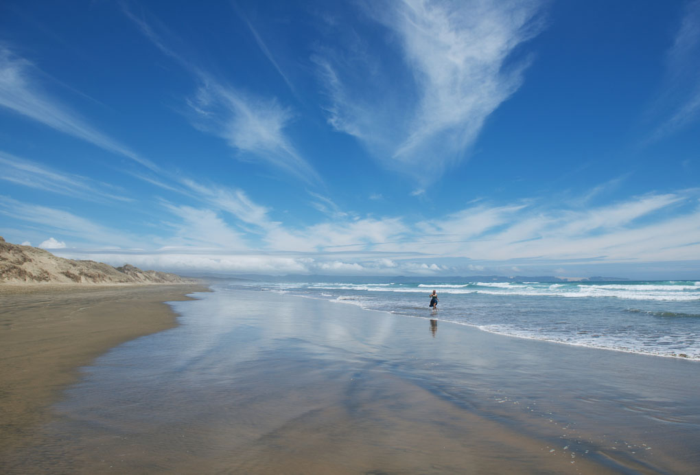 Ninety Mile beach, New Zealand
