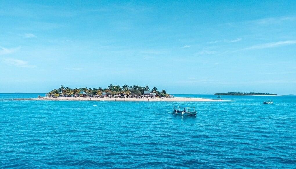 a beautiful fiji island