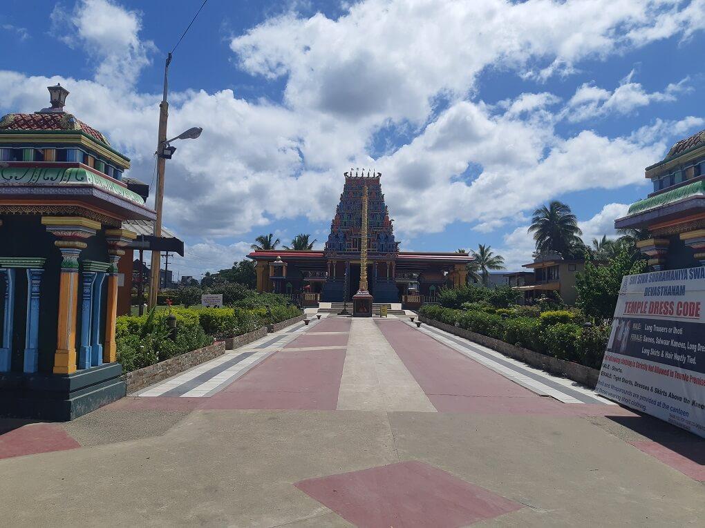 hindu temple in fiji