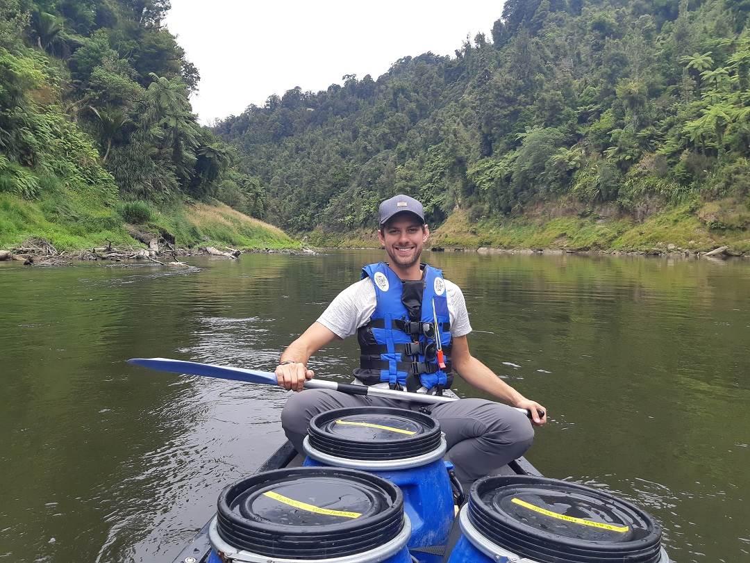 canoeing on the whanganui river