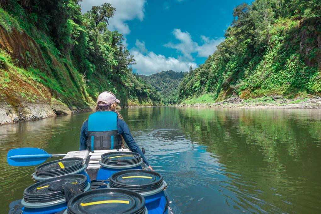 Kayaking on the Whanganui Journey, New Zealand