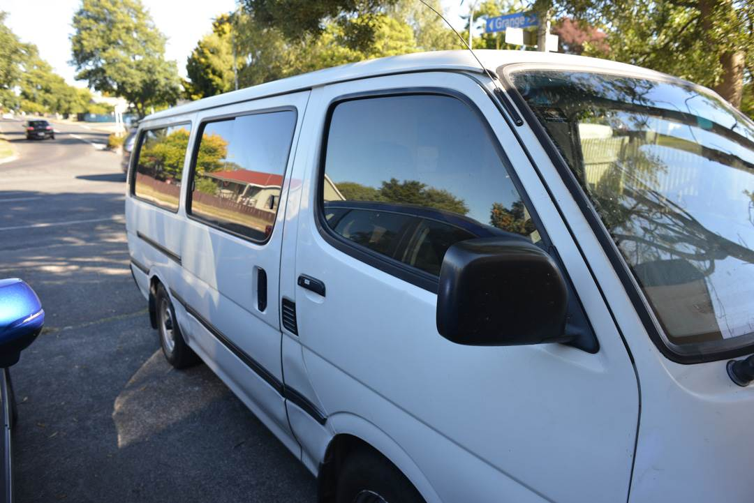 you must look for rust when buying a self contained van in New Zealand