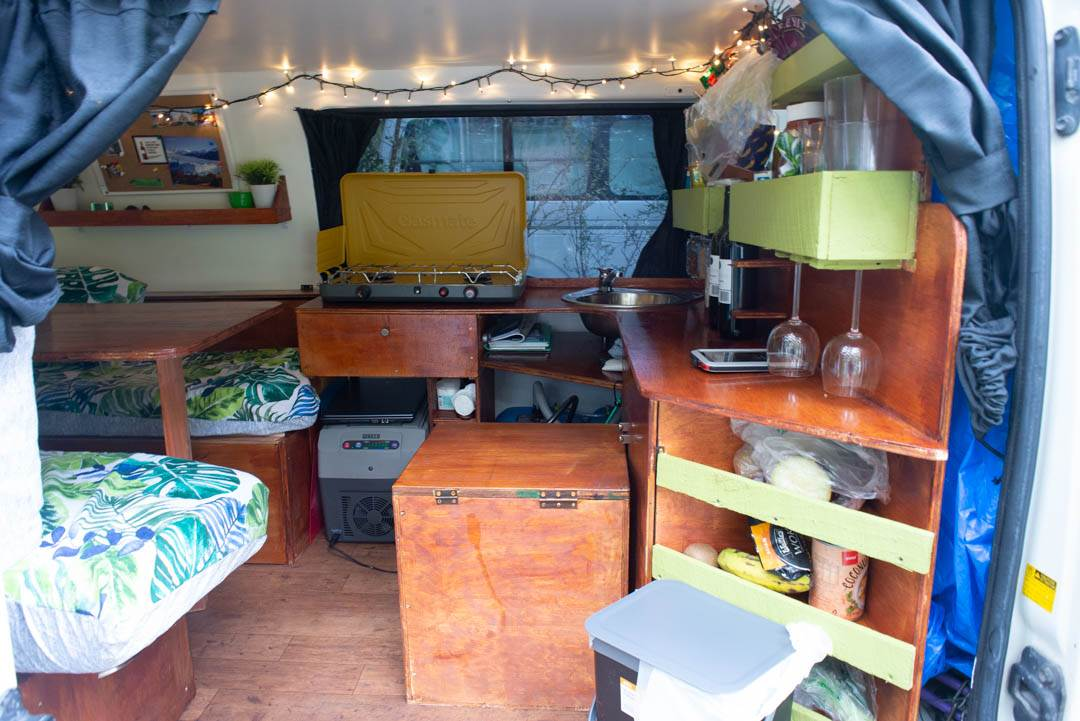 our campervan conversion