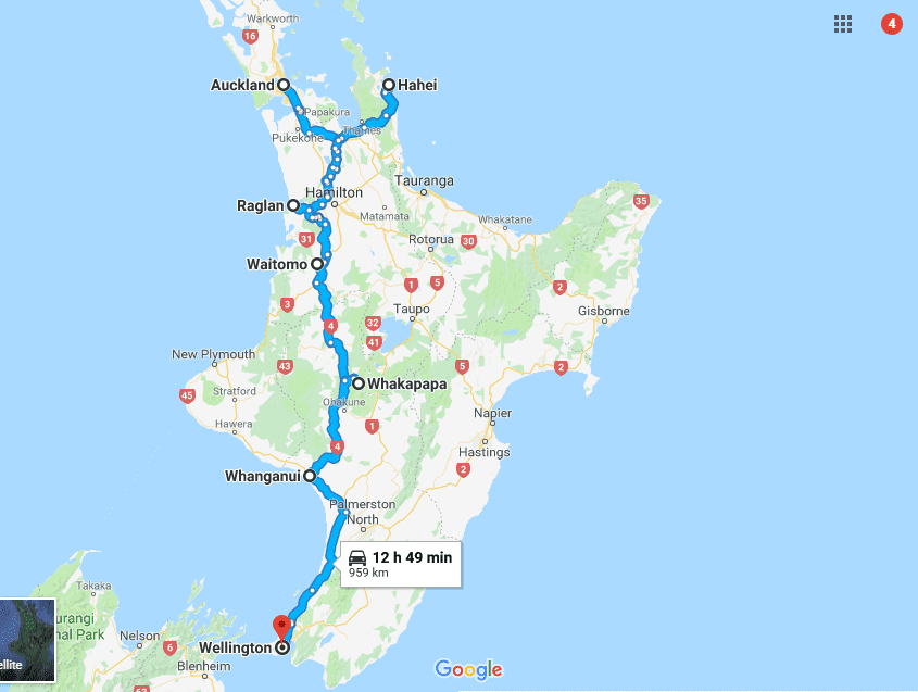 A new zealand road trip itinerary to the south island