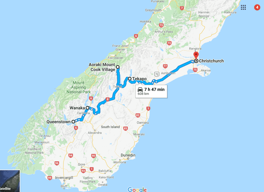 New Zealand Rad trip ideas