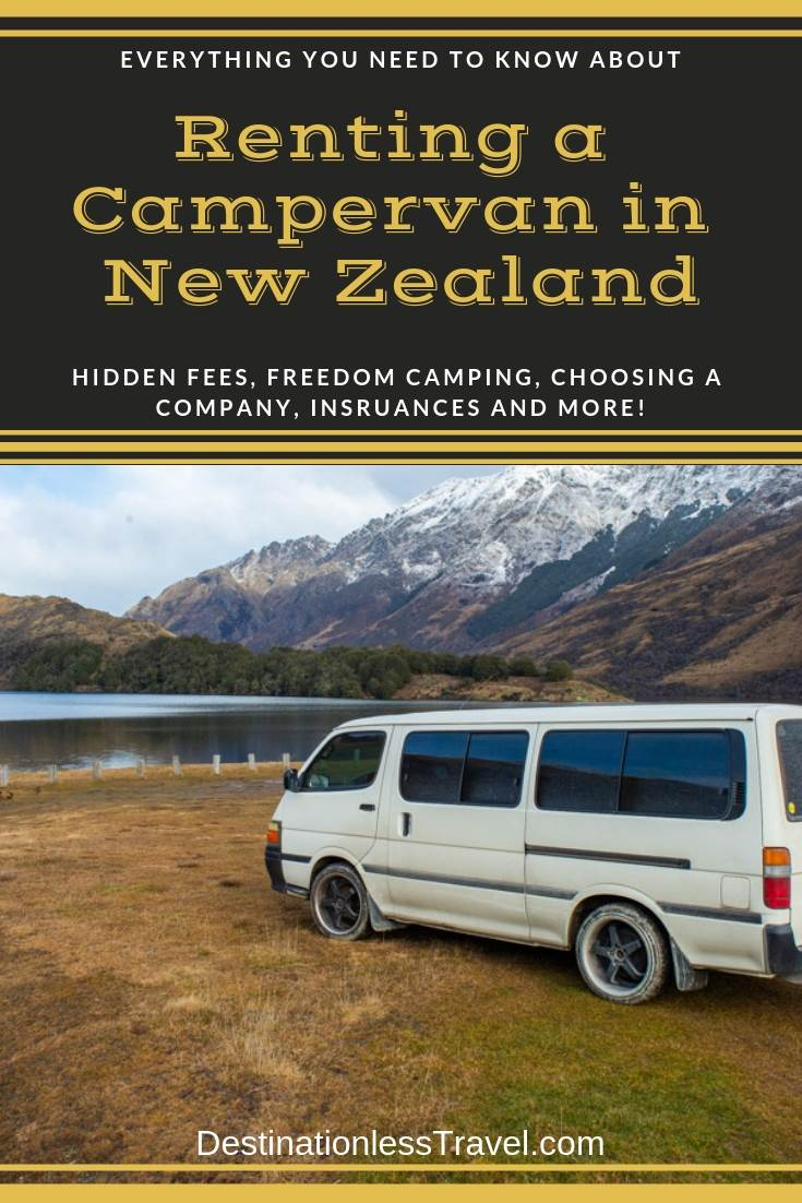 The TRUTH about Renting a Campervan in New Zealand