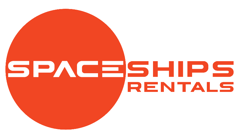 space ships rentals logo