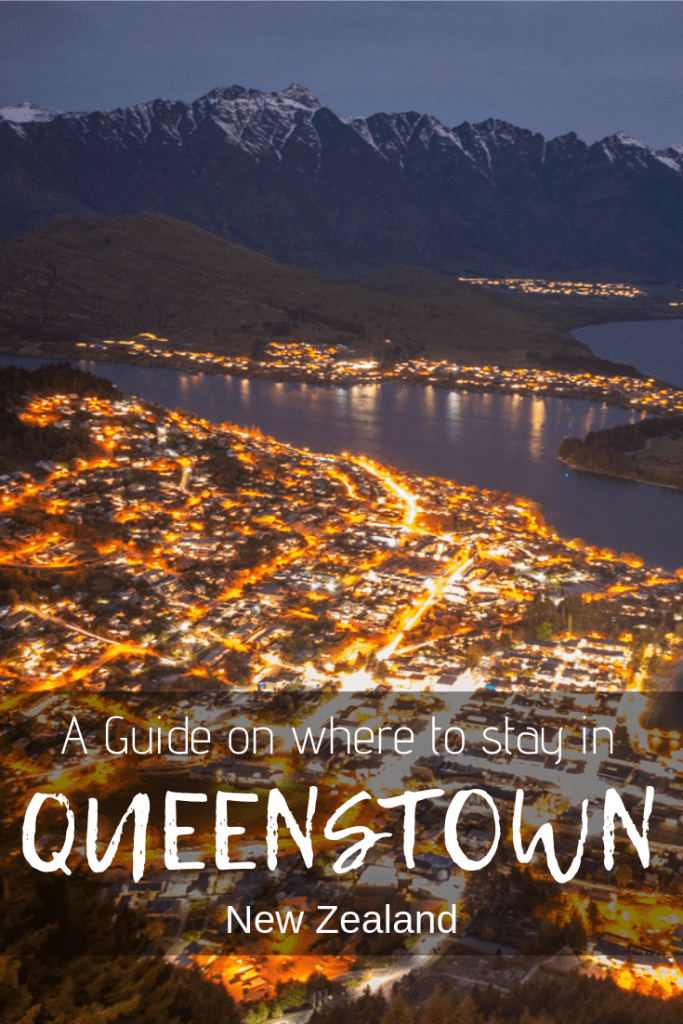 where to stay in Queenstown pin