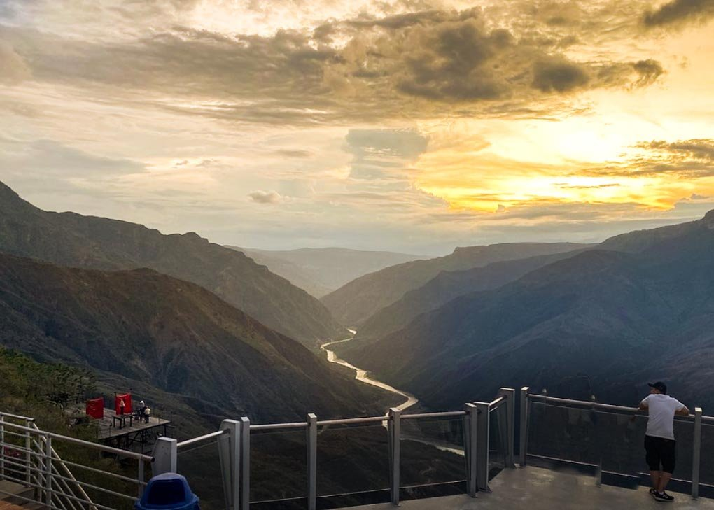Viewpoint in Chicamocha National Park, San Gil