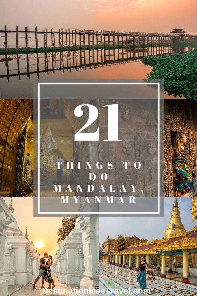 what to do in mandalay myanmar pin