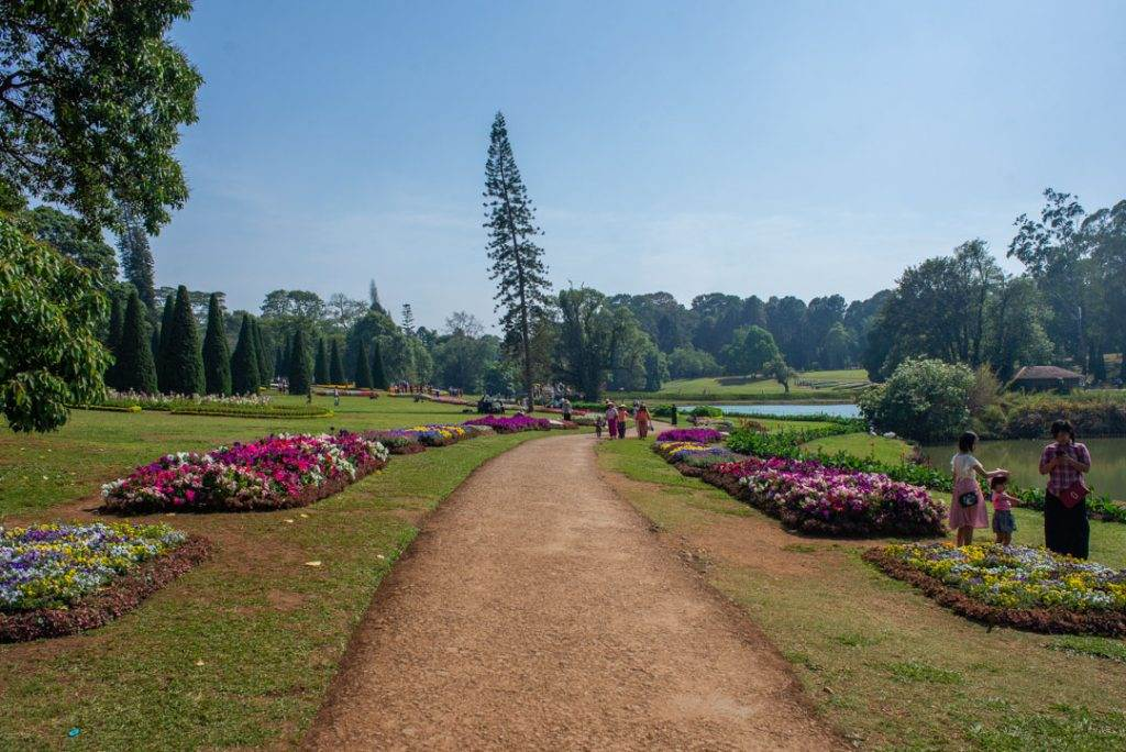 one of the best things to do from mandalay is visit the pyin oo lwin botanic gardens