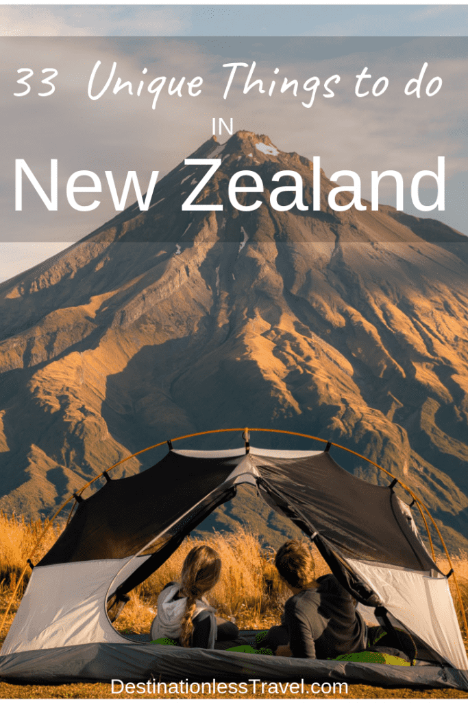 33 most unique things to do in new zealand pin