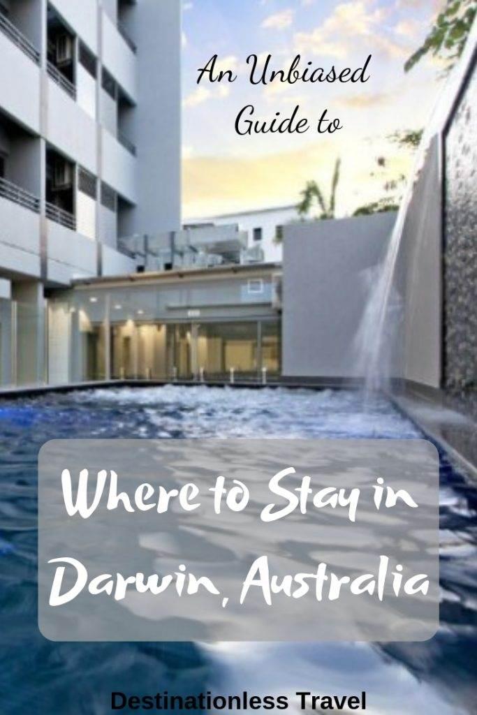 where to stay in darwin pin