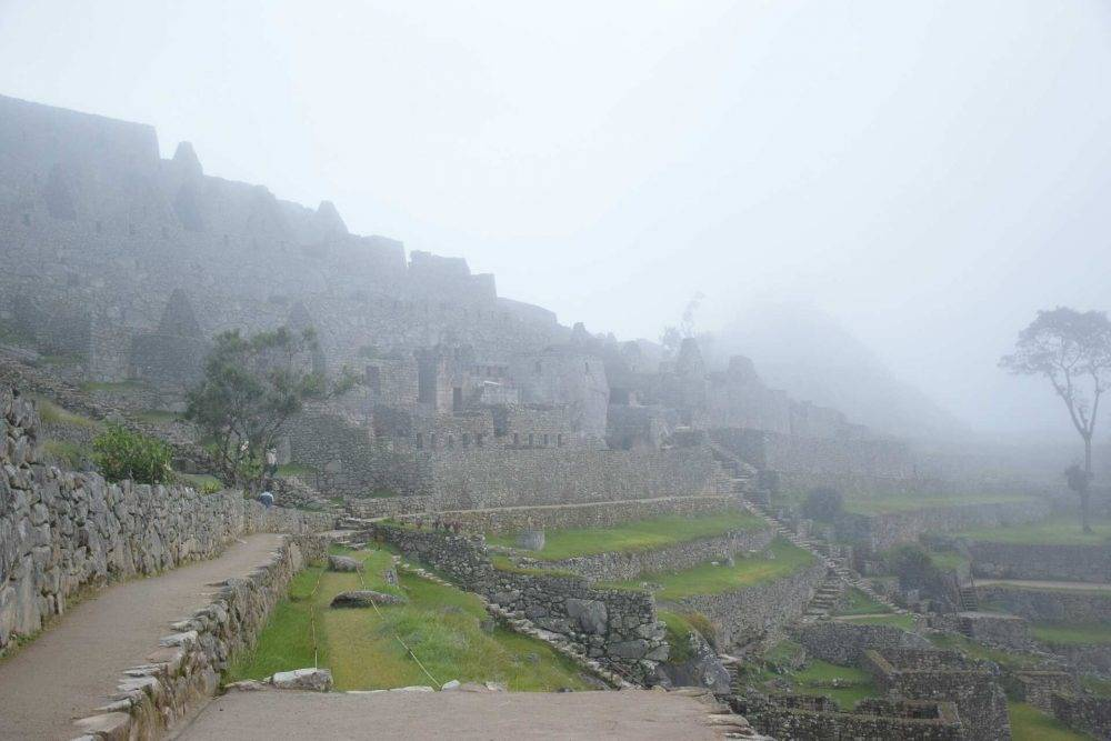 my first moments visiting MAchu Picchu