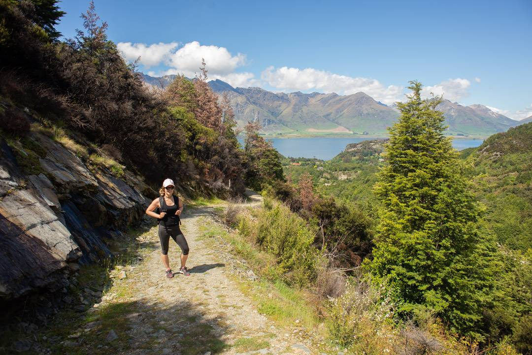 Mt Crichton loop track in Queenstown, New Zealand