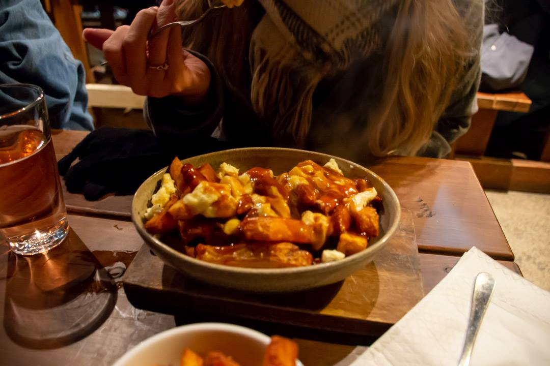 The poutine is one of the best foods in queenstown