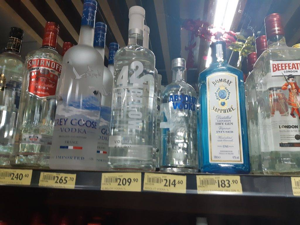 alcohol is expensive in fiji