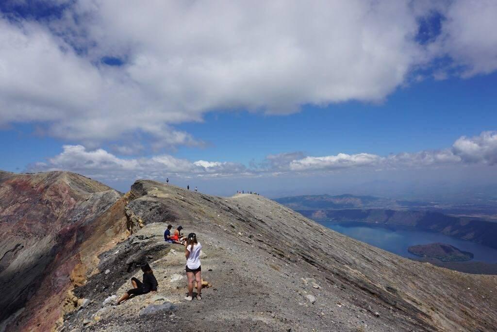 view from santa ana volcano
